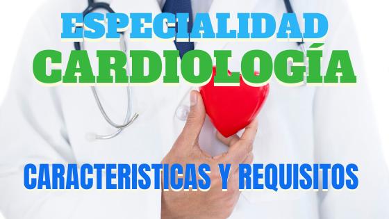 ESPECIALIDAD EN CARDIOLOGIA