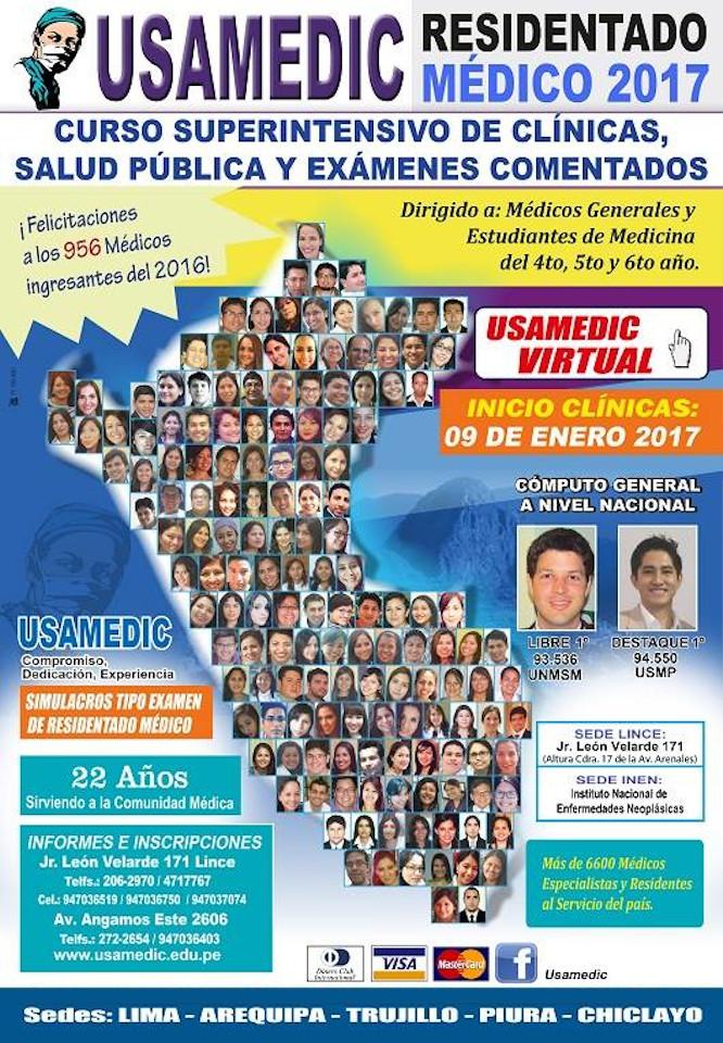 RESIDENTADO MEDICO 2016